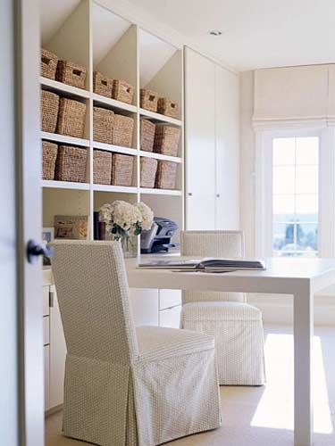 Home Office Storage Solutions | Home Office Organization Ideas