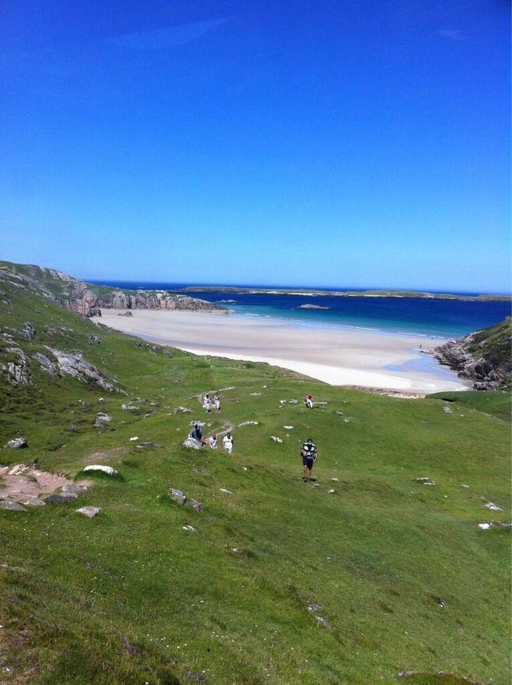 Beach near Durness in the Scottish Highlands: 19 of the best beaches in Europe: http://www.europealacarte.co.uk/blog/2011/03/28/best-beaches-europ/