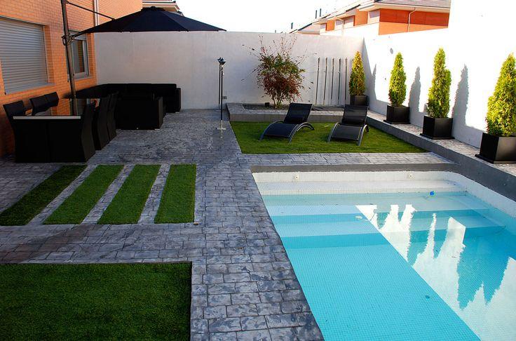 2010 villalvilla 230 m2 paisajismo dise o jardines for Paisajismo para piscinas
