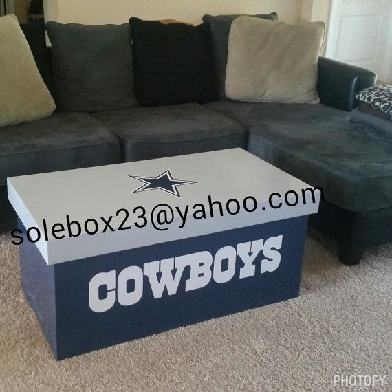 Charming Coffee Tables Dallas Part - 8: Custom Dallas Cowboys Coffee Table | Cowboys Baby | Pinterest | Toys,  Valentines And Training