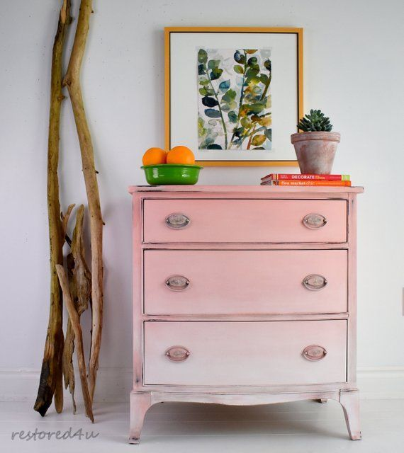 Pink Painted Furniture, Painted Furniture Ideas 2021