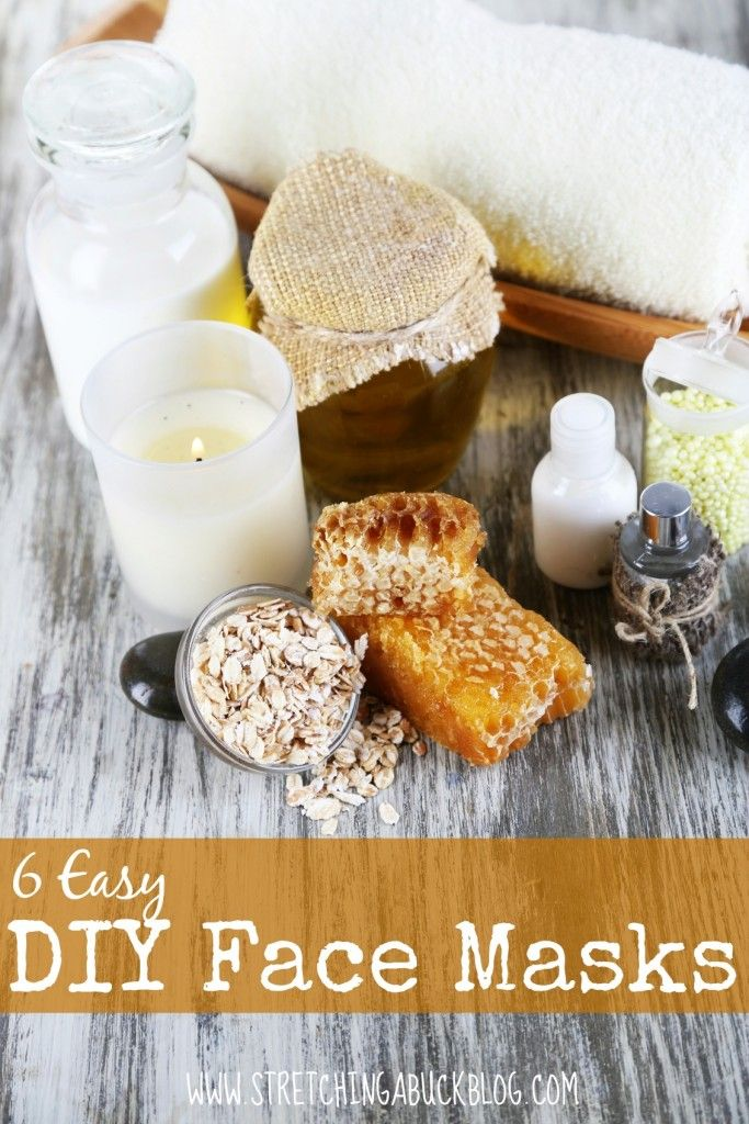 6 Easy DIY Face Mask Recipes plus explanation of why each ingredient is used.