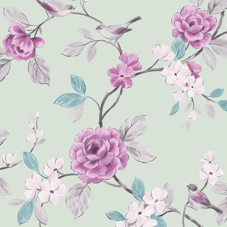 17 best ideas about mint wallpaper on pinterest - Butterfly wallpaper homebase ...