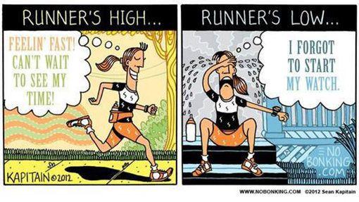 Afbeeldingsresultaat voor runner jokes schedule