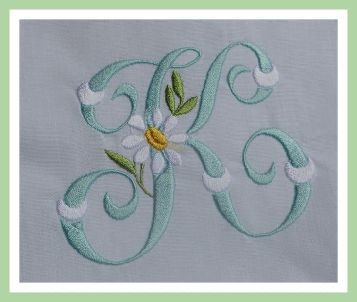Best machine embroidery monogram fonts images on