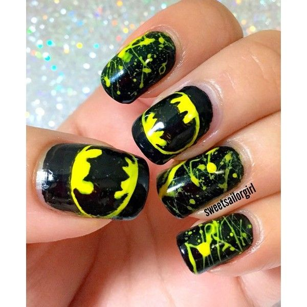 Batman ❤ liked on Polyvore featuring nails
