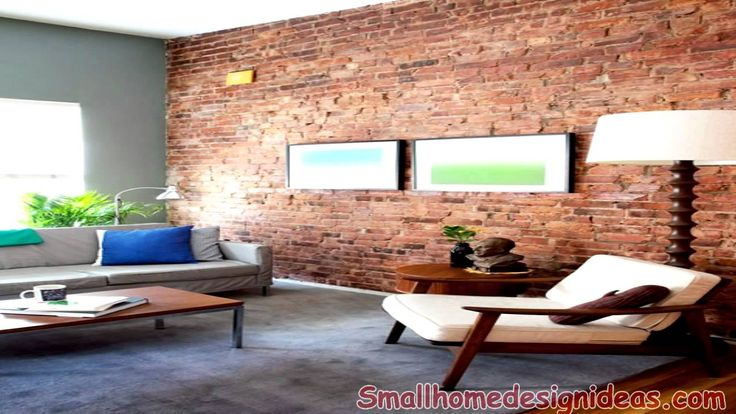 Modern Interiors With Exposed Brick Wall Design Ideas - YouTube