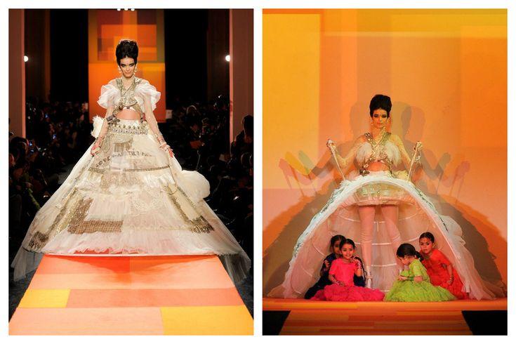 Los mejores momentos de moda y belleza de la Alta Costura primavera-verano 2013: Jean Paul Gaultier