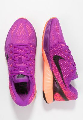 Nike Performance LUNARGLIDE 7 - Stabilty running shoes - vivid purple/black/hyper orange for £105.00 (27/11/15) with free delivery at Zalando