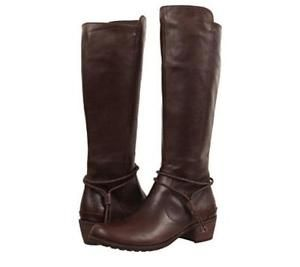 Ugg-Womens-shoe-size-12-Cierra-Riding-Boots-Lodge-Leather-275-Great-Boots