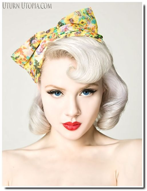 Pin Up Bandana Hairstyles | Pin Up hairstyles : quelques inspirations pour le printemps... - Be ...