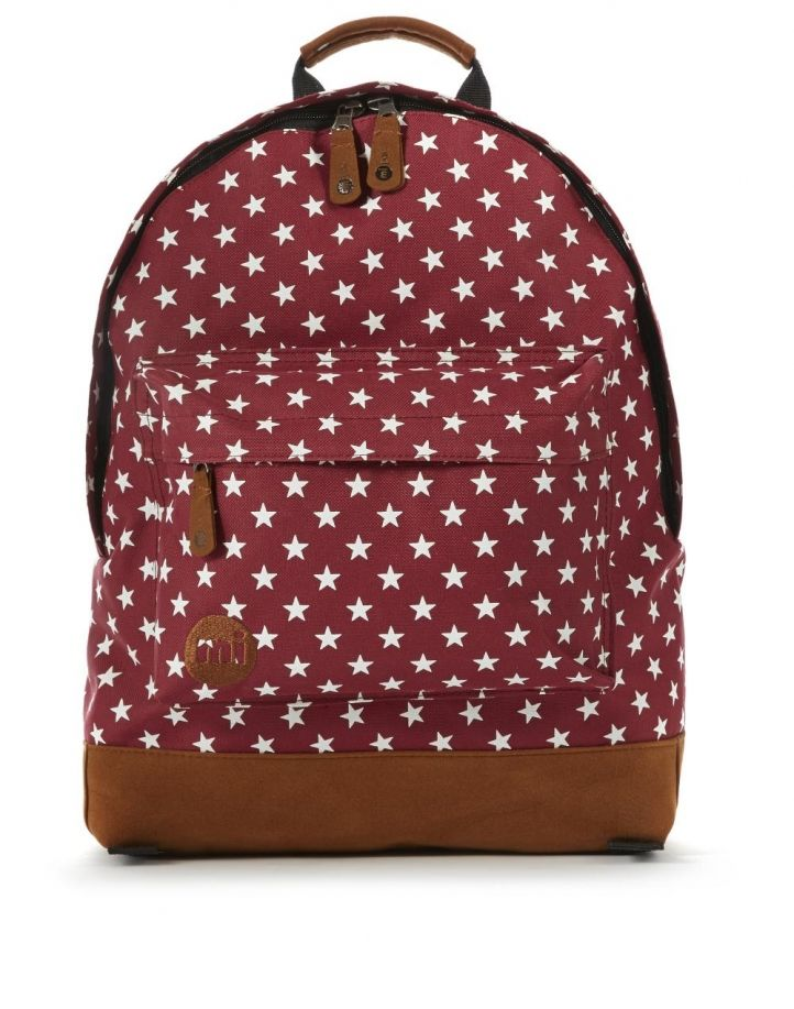 Men Mi-Pac All Polka Backpack - Bright Red/White UK