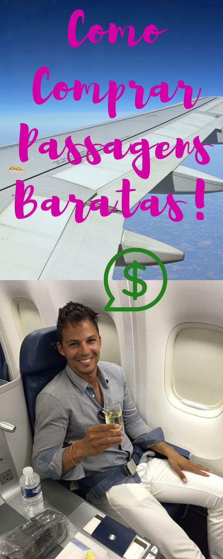 Todas as dicas e truques que uso para conseguir comprar passagens aéreas baratas.