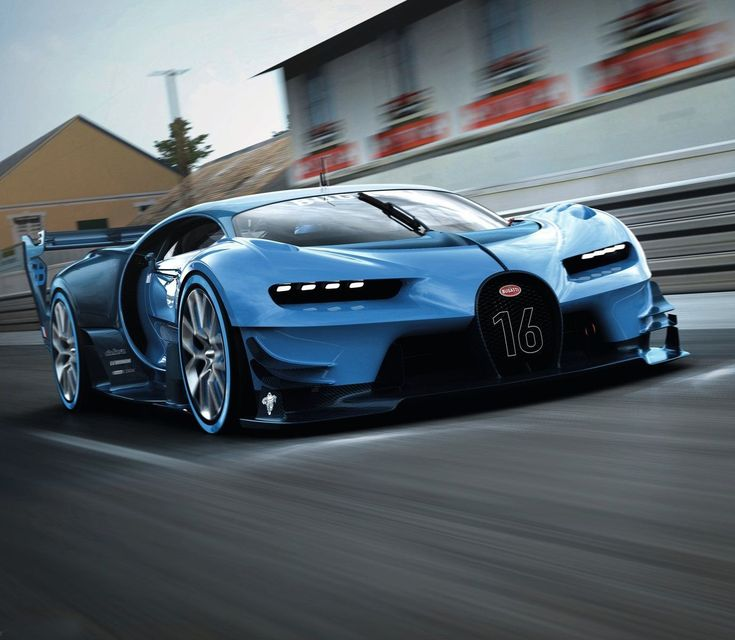 2016 Geneva Motor Show Bugatti Chiron First Look: Bugatti Vision GT Rear. #bugattieb110
