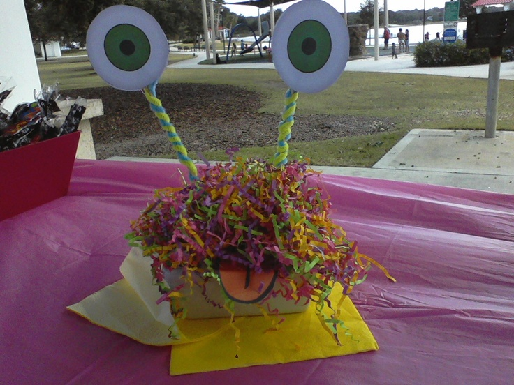 little monster theme party