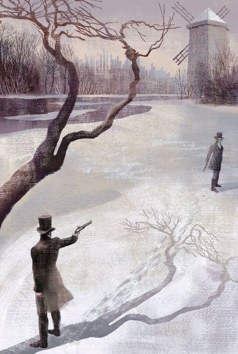 Eugene Onegin | Folio Illustrated Book - Illustrated by Anna and Elena Balbusso