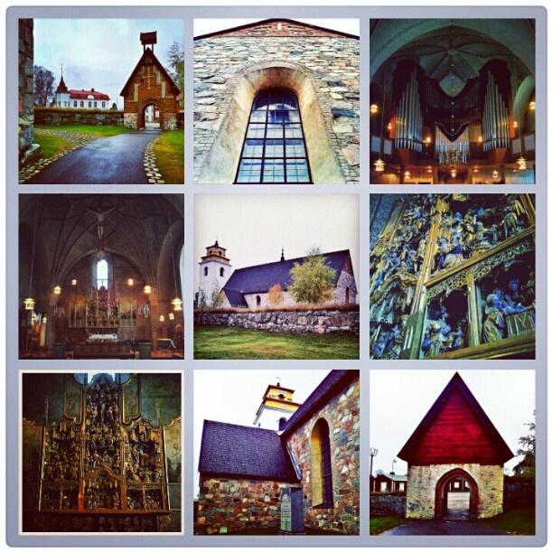 Nedra Luleå Kyrka | Gammelstads Kyrka | The church in Old Town Luleå