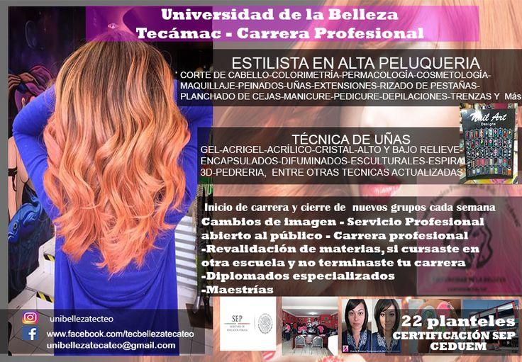 carrera de belleza Tecámac y Teotihuacán 4
