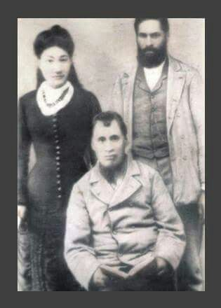 Aneta Kaka (Marupo) and her brothers Marupo and Pukepoto. Aneta is Erana Kaka's (my great grandmothers) mother.....my great great grandmother. Also discovered Aneta was married to a Chief Hohepa Kaka of the Aoupouri Tribe. He was one of Hone Hekes warriors until his capture by the British colonials.