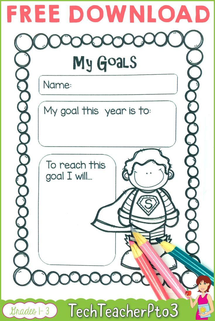Help Young Students With Basic Goal Setting With This Free Download Inside You Will Find La Goal Setting For Students Student Goals Student Goal Setting Sheet [ 1100 x 735 Pixel ]
