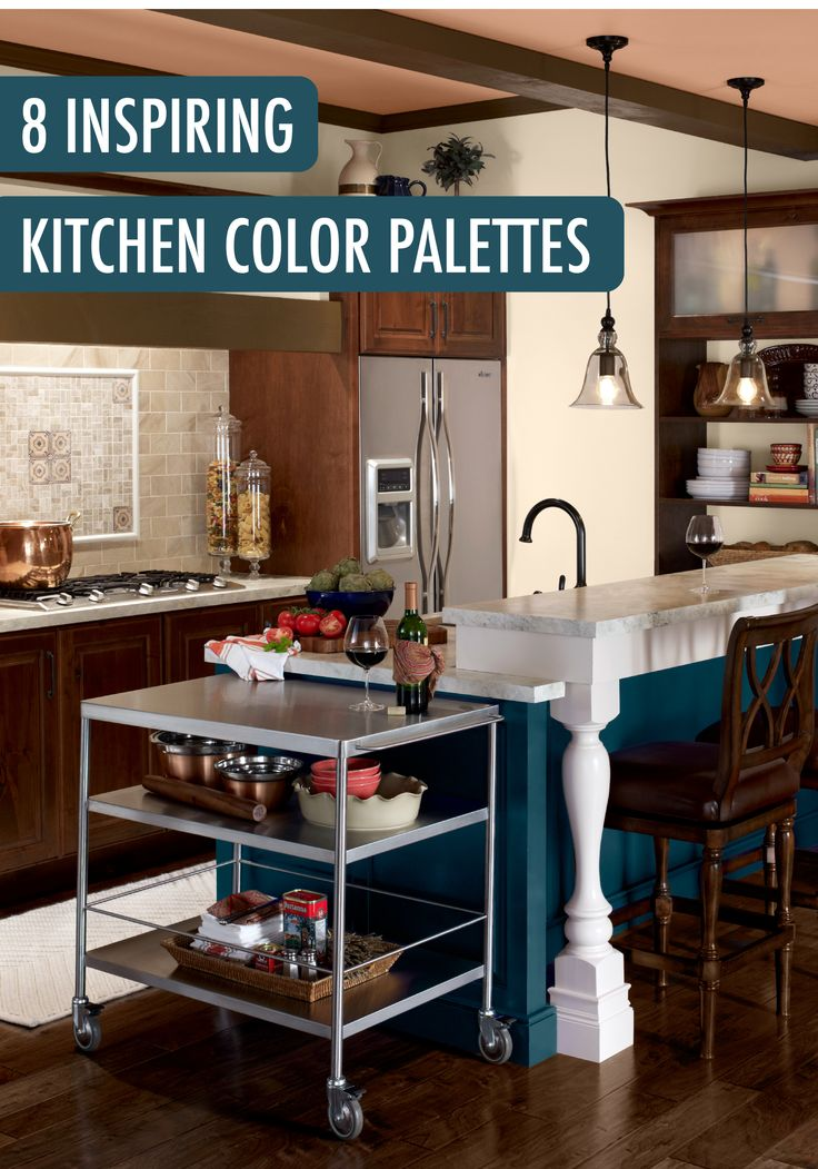 Here to celebrate unique design choices these 8 inspiring for Colour choice for kitchen