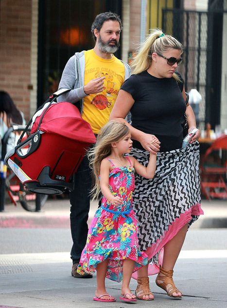 Busy Philipps steps out with her family after the birth of daughter Cricket and shows off her post-baby body!