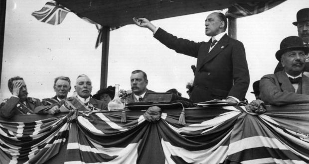 Sir Edward Carson: he  was  willing to carry resistance to Home Rule to almost any length, legal or illegal. Photograph:    Hulton Archive/Getty Images