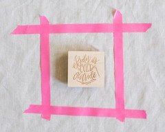 Baby it's cold outside  Lindsay Letters stamp