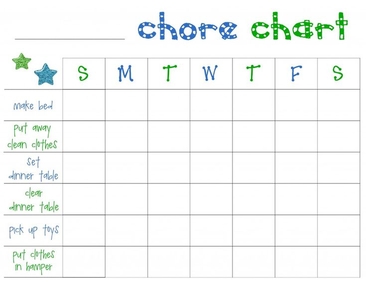 120 best Chores, Charts, Routines images on Pinterest Activities - printable behavior chart