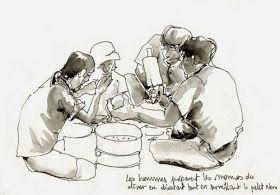 Urban Sketchers Paris: Inscriptions en ligne pour Usk 2014 PARATY !