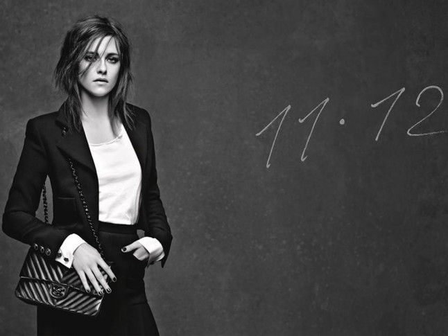 Kristen Stewart And Vanessa Paradis Model The New Chanel Girl And 11.12 Bags | Marie Claire