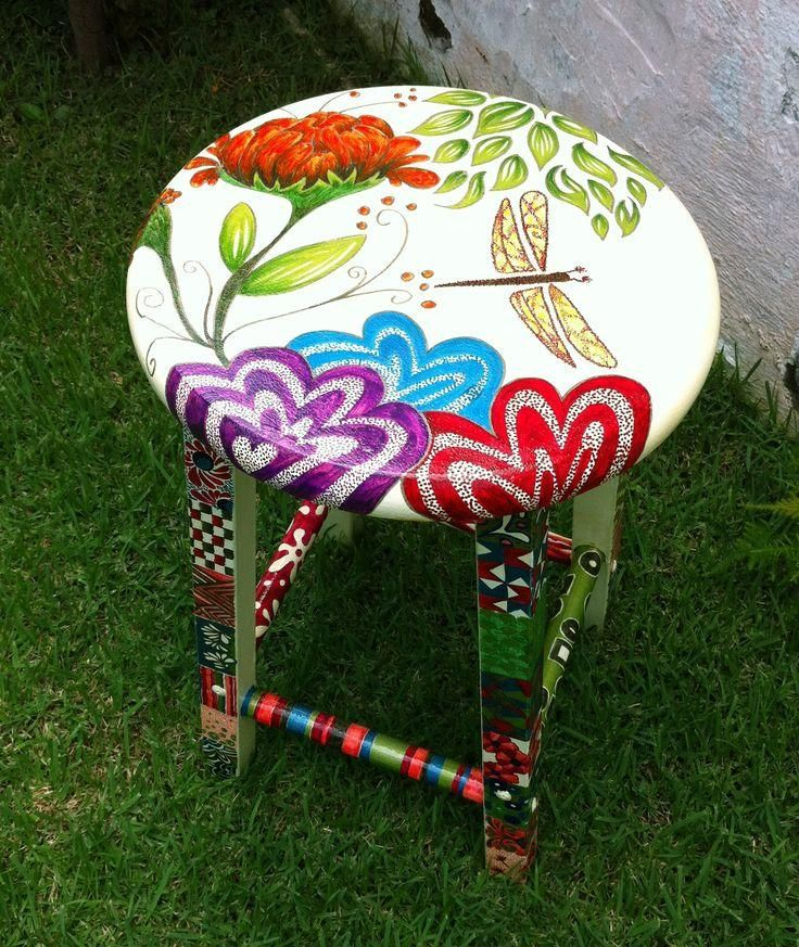 love Dragonflies and hence this stool:   http://on.fb.me/1mXbL22