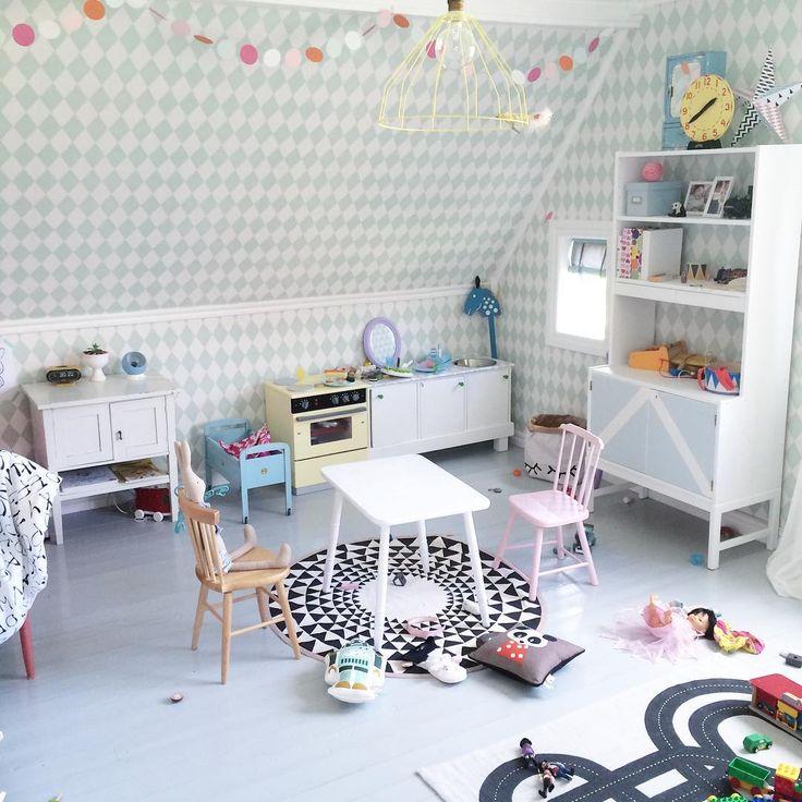 Kids room ferm living @sullkullan barnrum hm home