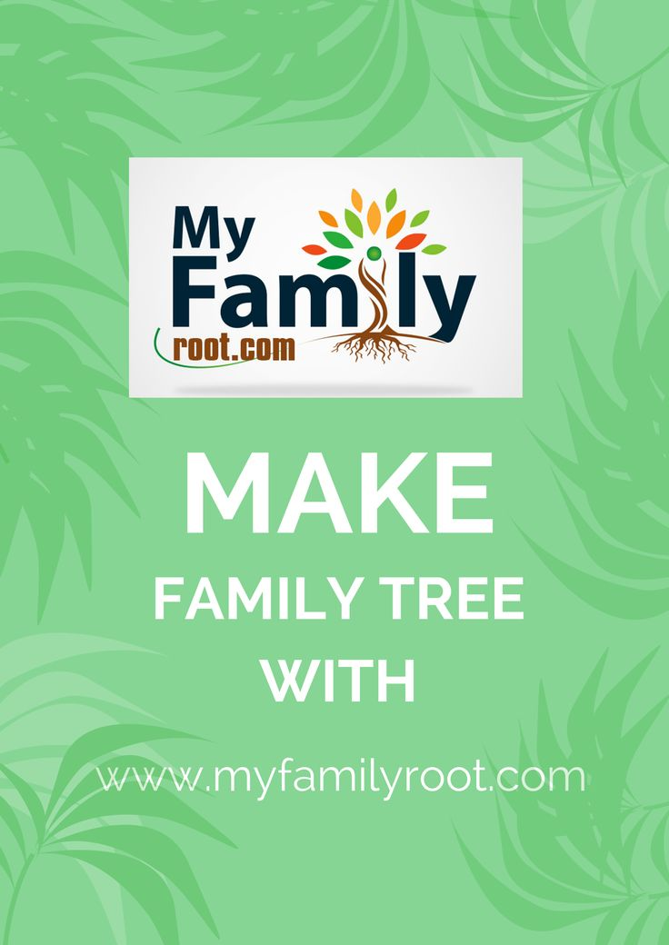 design a family tree online