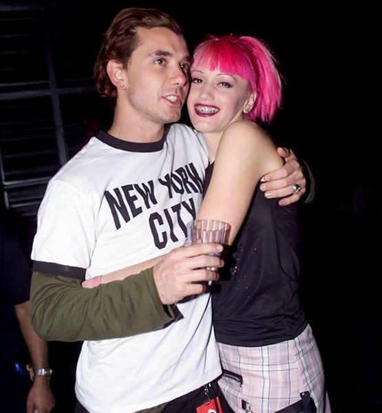 Gwen Stefani & Gavin Rossdale...loved them in high school. Well, not them totter as much, since he was supposed to be mine! But I got over it an love them together now. This pic encapsulates a time though.