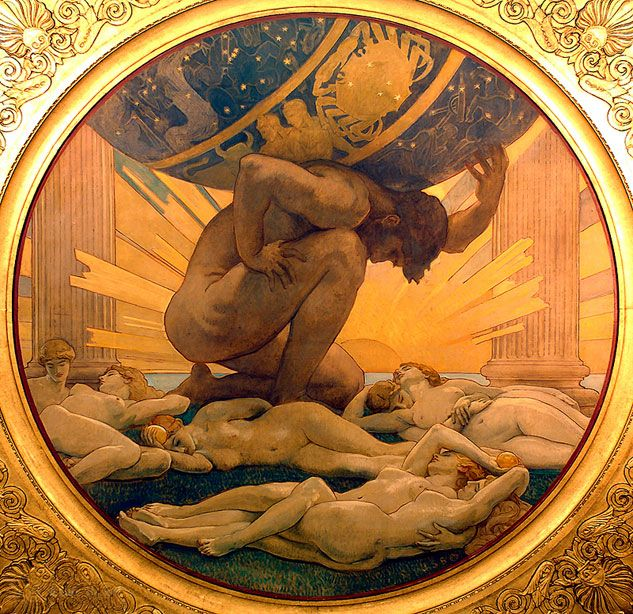 bobbygio:  John Singer Sargent, Atlas and the Hesperides