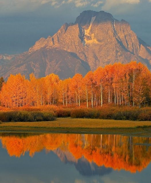Jackson Hole, Wyoming. would love to go in the fall