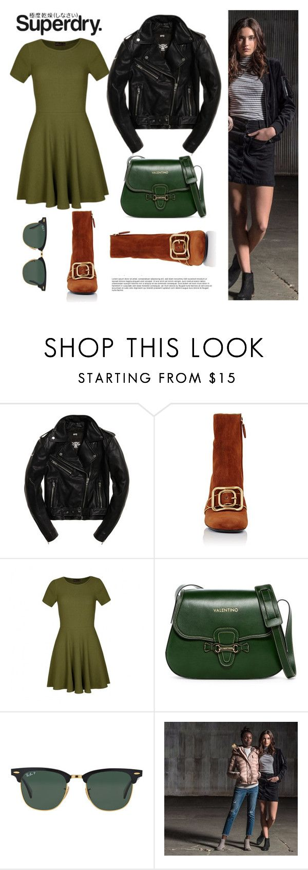 """The Cover Up – Jackets by Superdry: Contest Entry"" by arohii ❤ liked on Polyvore featuring Superdry, Prada, Ally Fashion, Mario Valentino and Ray-Ban"