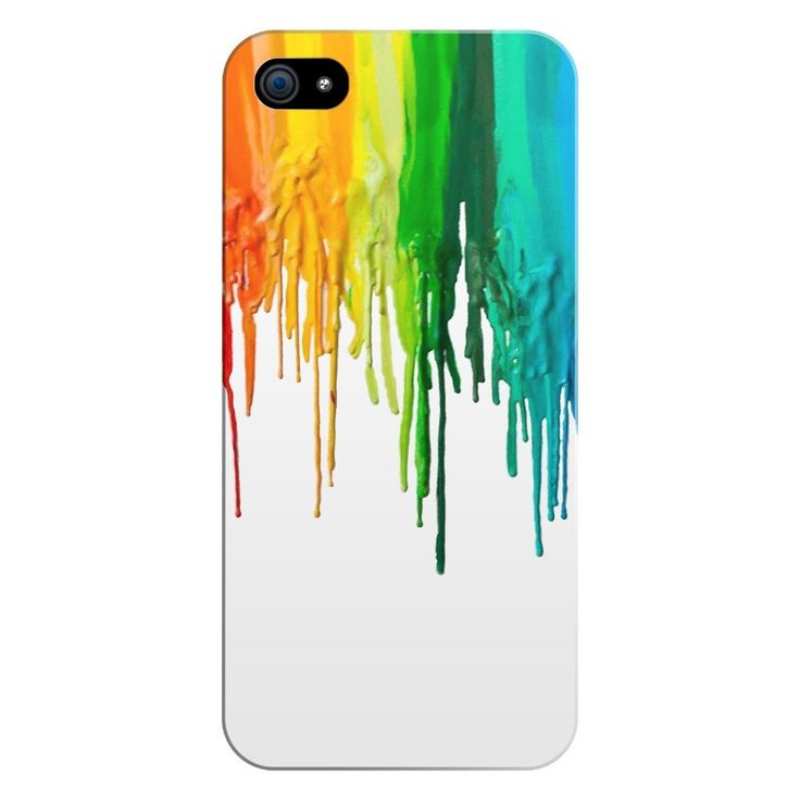 Melted Crayon Smartphone Case - Shelfies   All-Over-Print Everywhere - Designed to Make You Smile