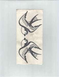 Tattoos Love Birds Tattoo
