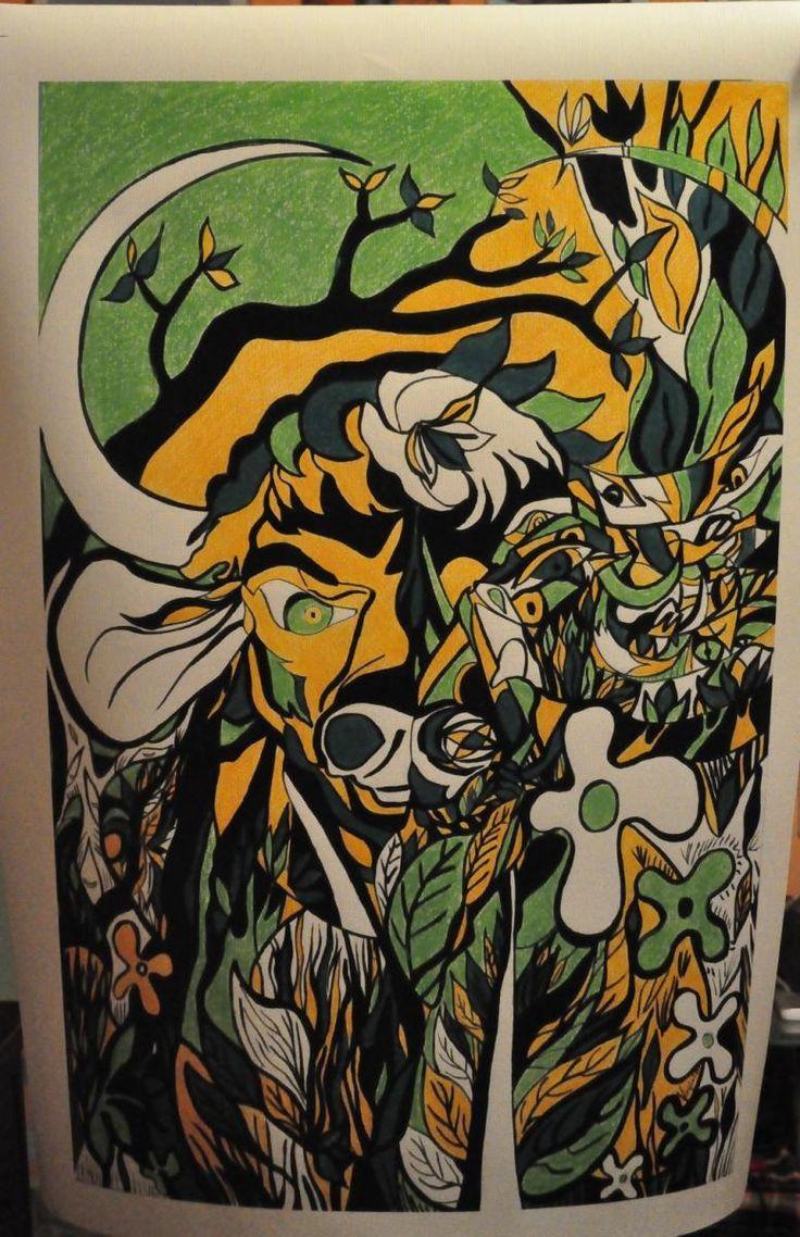 #print #canvas #forsale #sales #animals #bison #wildlife #art