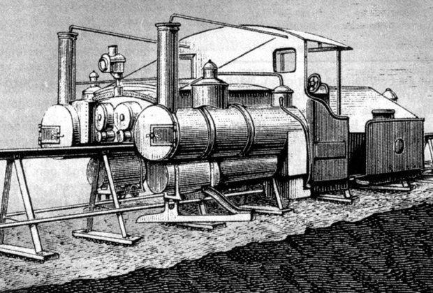 Локомотив системы Лартига, предположительно 1880 год Монорельс системы Лартига был едва ли не самым успешным монорельсом XIX столетия. Самая протяженная его трасса в Алжире достигала 90 километров.