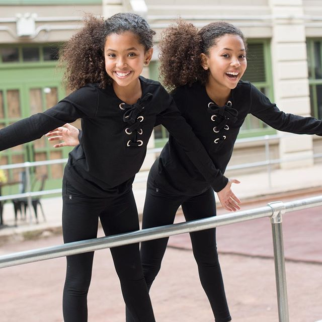 Enjoy your weekend with arms wide open and embrace all the joy coming to you!  Photo by @collettebonapartephoto Outfits by @chick.nyc #cutegirl #curly #twinpower #twins #twinsisters #mixxedchicks #mixed #gym #workout #workhard #curlygal #cute #mixedkids #mixedgirl #cutekids #mixedgirlmagic #fashionablekids #naturalbeauty #beautiful #beautifulgirls #curlyhair #curlygirl #curls #curlyhairdontcare #curlygirls #curlygirlsrock #natualhair #naturalbeauty #happykids #mixedgirlbeauty #mi...