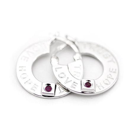 Серебряные серьги ELLE ― ELLE SILVER - серебряные украшения ELLE, кольца, серьги, колье, браслеты, серебро 925, купить