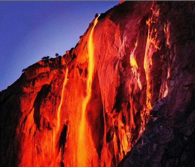 'Firefall' phenomenon wows visitors to Yosemite National Park | Geology IN
