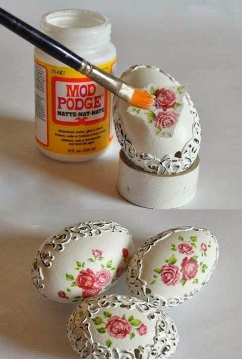 ΠΑΣΧΑΛΙΝΕΣ ΚΑΤΑΣΚΕΥΕΣ: Διακοσμητικά ΑΝΤΙΚΕ αυγά | ΣΟΥΛΟΥΠΩΣΕ ΤΟ