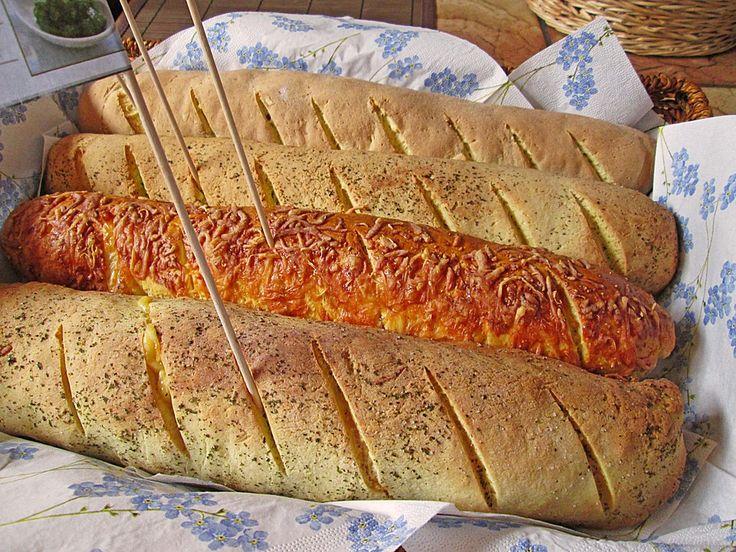 Glutenfreie Baguette-Brote