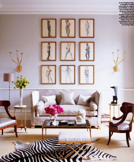 Interior Infatuations: Frame Arrangements
