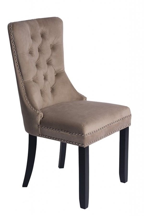 Antoinette Taupe Dining Chair Dining Chairs Chair Dining Room