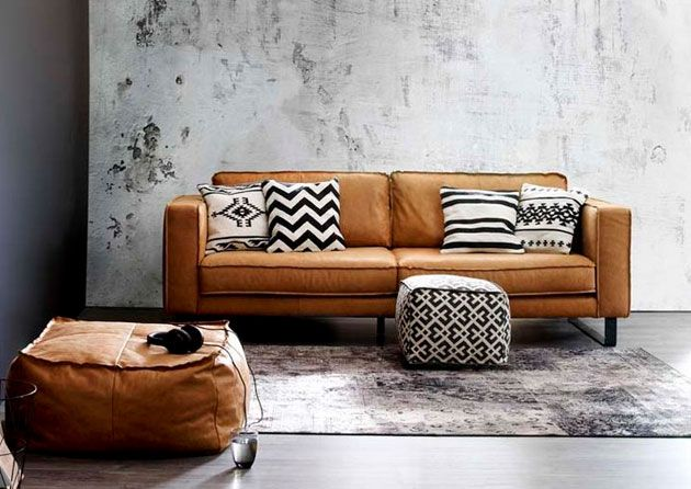 25+ beste ideeën over woonkamer bruin op pinterest - bruine bank, Deco ideeën